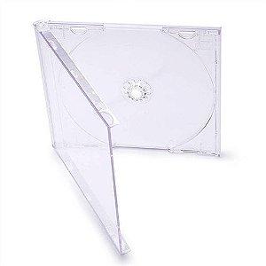 Box CD Tradicional Simples Tray Crystal (Novo Disc) - 200 Unidades