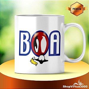 Caneca Cerâmica Classe +AAA Personalizada BOA - 01 Unidade