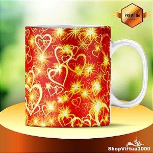 Caneca Cerâmica Classe +AAA Personalizada Amor Iluminado - 01 Unidade