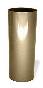 Copo Long Drink Acrílico Dourado 350 Ml Ultra Resistência Bezavel Para Transfer ou Silk (1877) - 01 Unidade