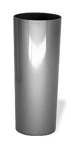 Copo Long Drink Acrílico Prata 350 Ml Ultra Resistência Bezavel Para Transfer ou Silk (1880) - 01 Unidade