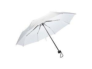 Guarda Chuva Modelo Sombrinha de Bolsa Branco para Sublimação Reforçado Dobrável (2411)