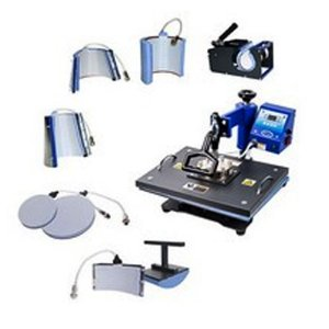 Prensa Térmica Combo 8x1 - 110v Display Digital ShopVirtua3000® (2030) - 01 Unidade