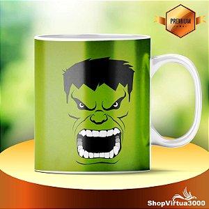 Caneca Cerâmica Classe +AAA Personalizada Hulk - 01 Unidade