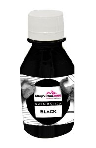 Tinta Sublimática 100 ml Preto Super para Epson Alta Performance  (9370SUBLI) - 01 Unidade