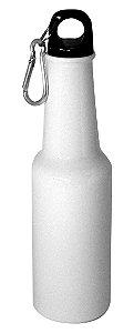 """Garrafa de Aluminio Estilo """"Long Neck"""" - Branco - 500 ML (2596) - 01 Unidade (PROMO TOP)"""