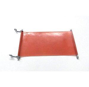 Manta de Silicone 20x11 Com Trava para Prensa 3d Cor Vermelha (Para Sublitúnel e Prensas 3d) - 01 Unidade