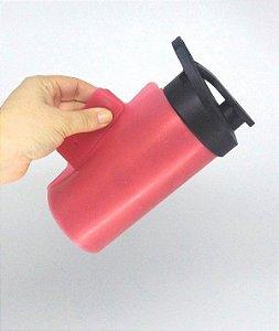 Manta de Silicone 23x14,5 para Caneca e Squeeze Cor Vermelha (para Prensas Tradicionais) - 01 Unidade