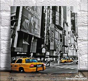 Azulejo Ultra Brilho 15x15cm / 20x20cm Personalizado Times Square (AL2002 - AL2004) - 01 Unidade