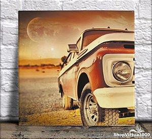 Azulejo Ultra Brilho 15x15cm / 20x20cm Personalizado Carro Vintage (AL2002 - AL2004) - 01 Unidade