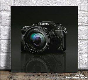 Azulejo Ultra Brilho 15x15cm / 20x20cm Personalizado Câmera Decorativa (AL2002 - AL2004) - 01 Unidade
