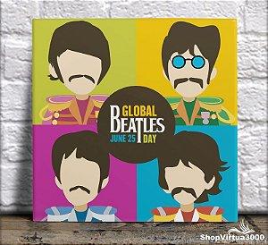 Azulejo Ultra Brilho 15x15cm / 20x20cm Personalizado The Beatles (AL2002 - AL2004) - 01 Unidade