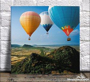Azulejo Ultra Brilho 15x15cm / 20x20cm Personalizado Balões Turísticos (AL2002 - AL2004) - 01 Unidade