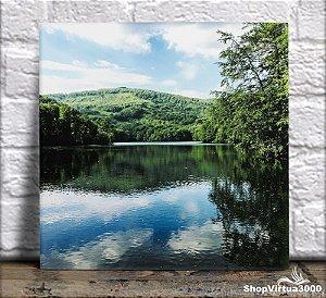 Azulejo Ultra Brilho 15x15cm / 20x20cm Personalizado Fenômeno de Reflexão Entre Paisagens (AL2002 - AL2004) - 01 Unidade