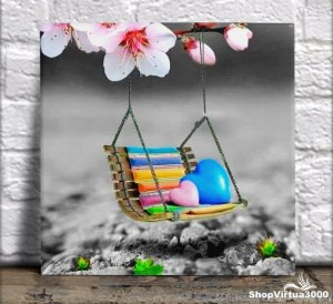 Azulejo Ultra Brilho 15x15cm / 20x20cm Personalizado Banco do Amor (AL2002 - AL2004) - 01 Unidade