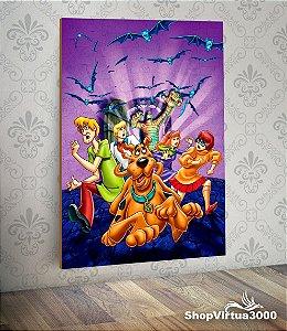 Placa em MDF Vertical 6mm Ultra Brilho Personalizado Scooby-Doo - 01 Unidade