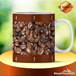 Caneca Cerâmica Classe +AAA Personalizada Arte Café - 01 Unidade