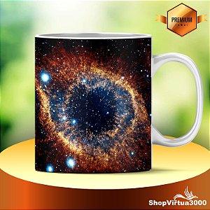 Caneca Cerâmica Classe +AAA Personalizada Nebulosa de Hélix - 01 Unidade