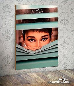 Placa em MDF Vertical 6mm Ultra Brilho Personalizado Audrey Tiffany - 01 Unidade