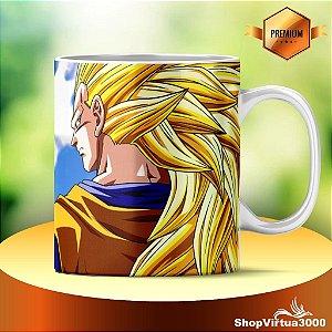 Caneca Cerâmica Classe +AAA Personalizada Dragon Ball Z Goku - 01 Unidade