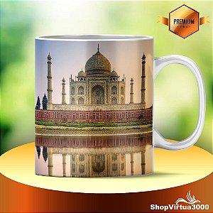 Caneca Cerâmica Classe +AAA Personalizada Taj Mahal - 01 Unidade