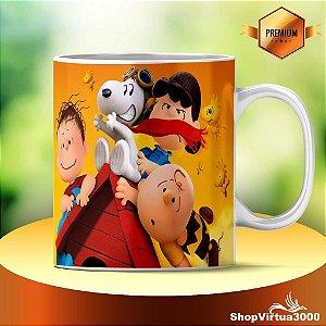 Caneca Cerâmica Classe +AAA Personalizada Snoopy  - 01 Unidade