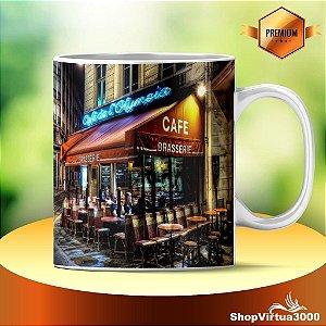 Caneca Cerâmica Classe +AAA Personalizada Cafe Brasserie - 01 Unidade
