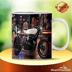 Caneca Cerâmica Classe +AAA Personalizada Honda Cafe Racer 250 - 01 Unidade