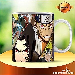 Caneca Cerâmica Classe +AAA Personalizada Naruto Ultimate Ninja Storm - 01 Unidade