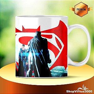 Caneca Cerâmica Classe +AAA Personalizada Batman vs Superman - 01 Unidade