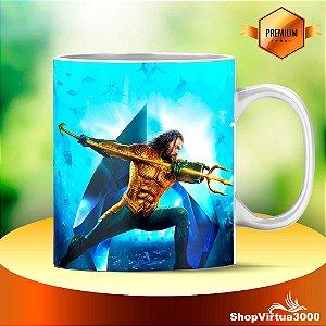 Caneca Cerâmica Classe +AAA Personalizada Aquaman Modelo 02 - 01 Unidade