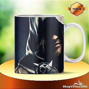 Caneca Cerâmica Classe +AAA Personalizada Assassin's Creed Modelo 01 - 01 Unidade