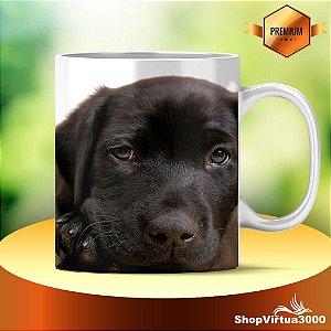 Caneca Cerâmica Classe +AAA Personalizada Labrador Retriever - 01 Unidade