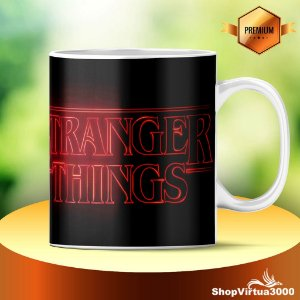 Caneca Cerâmica Classe +AAA Personalizada Eleven Stranger Things - 01 Unidade