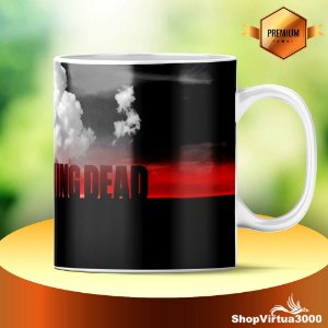 Caneca Cerâmica Classe +AAA Personalizada The Walking Dead - 01 Unidade