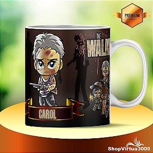 Caneca Cerâmica Classe +AAA Personalizada Carol The Walking Dead - 01 Unidade