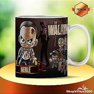 Caneca Cerâmica Classe +AAA Personalizada Merle The Walking Dead - 01 Unidade