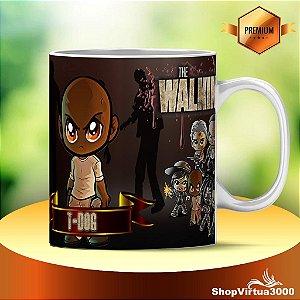 Caneca Cerâmica Classe +AAA Personalizada T-Dog The Walking Dead - 01 Unidade