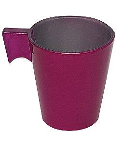 Xícara de Café Flashy 80ml Cor Rosa (2822) - 01 Unidade