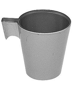 Xícara de Café Flashy 80ml Cor Prata (2823) - 01 Unidade