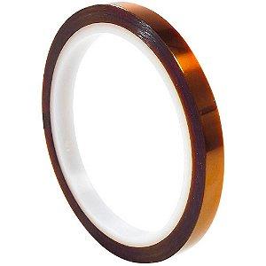 Fita Adesiva Térmica Suporte até 300 graus Tamanho 5mm x 33m para sublimação (828) - 01 Unidade