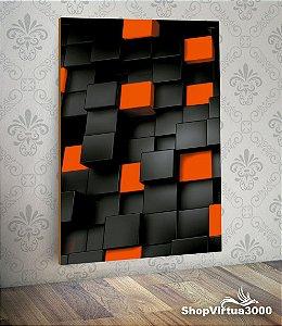 Placa em MDF Vertical 6mm Ultra Brilho Personalizado Arte 3D - 01 Unidade