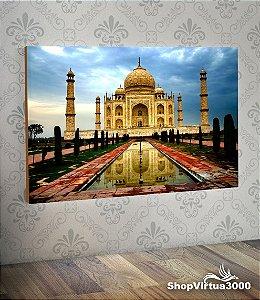 Placa em MDF Horizontal 6mm Ultra Brilho Personalizado Taj Mahal Modelo 01 - 01 Unidade