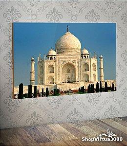 Placa em MDF Horizontal 6mm Ultra Brilho Personalizado Taj Mahal Modelo 02- 01 Unidade