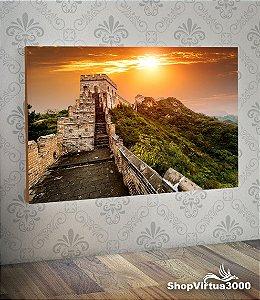 Placa em MDF Horizontal 6mm Ultra Brilho Personalizado Muralha da China Modelo 02 - 01 Unidade