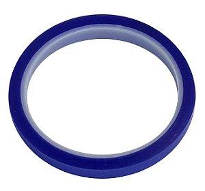 Fita Adesiva Térmica Azul Suporte até 300 graus Tamanho 10mm x 33m para sublimação (2848) - 01 Unidade