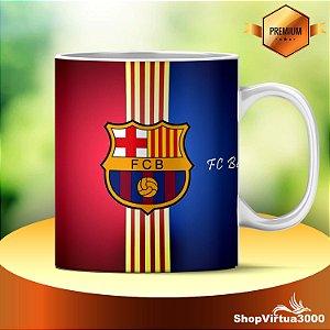 Caneca Cerâmica Classe +AAA Personalizada FC Barcelona - 01 Unidade