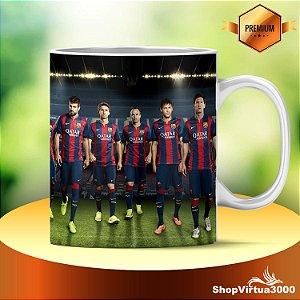 Caneca Cerâmica Classe +AAA Personalizada Time Futbol Club Barcelona - 01 Unidade