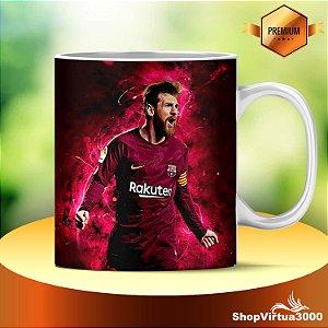Caneca Cerâmica Classe +AAA Personalizada Lionel Messi Futebol - 01 Unidade