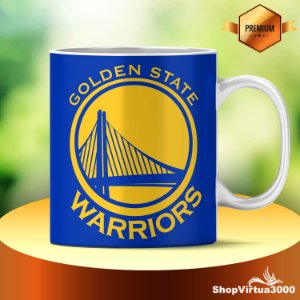 Caneca Cerâmica Classe +AAA Personalizada Golden State Warriors - 01 Unidade
